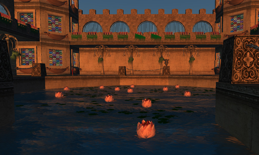And yet more lotuses…..tons of prims!