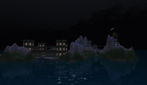 IBM's OpenSim Shengri La Spirit at Midnight
