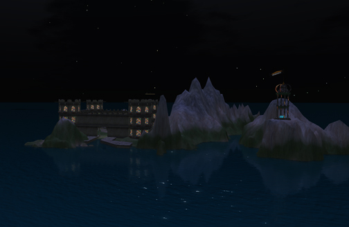 IBM OpenSim Shengri La Spirit by Moonlight