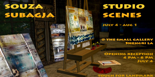 Souza Subagja\'s Studio Scenes in Shengri La
