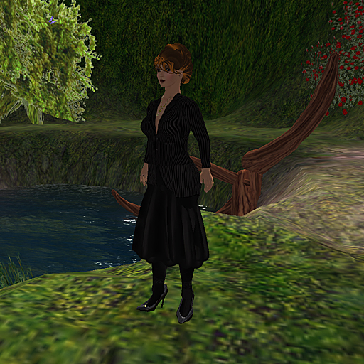 Shengri La OpenSim female default avatar Jane