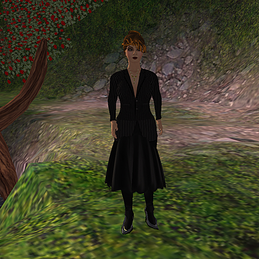 Shengri La OpenSim default female avatar Jane