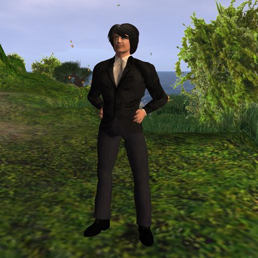 Shengri La OpenSim default male avatar John