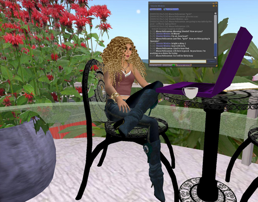 Ahuva looks great in Second Life.